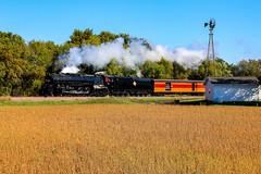 Steam Powered (BravoDelta1999) Tags: milwaukeeroad milw railroad twincitiesandwestern tcw tcwr railway pacificextension alco 484 261 northern type augusta minnesota