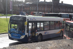SW 24190 @ Kilmarnock bus station (ianjpoole) Tags: stagecoach western man 18240lf alexander dennis enviro 300 sf10bzb 24190 working route 3 hareshaw drive onthank sunnyside road shortlees