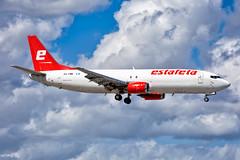 XA-EME, Estafeta Carga Aerea, Boeing 737-490SF, KMIA, February 2019 (a2md88) Tags: