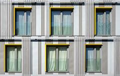 3 +  3 (jefvandenhoute) Tags: belgium belgië brussels brussel light lines shapes geometric wall windows