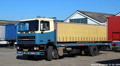 DAF 95 330 ATI 1990 (XBXG) Tags: vk34fx daf 95 330 ati 1990 daf95 n232 schipholweg boesingheliede nederland holland netherlands paysbas old dutch truck camion vrachtwagen vrachtauto véhicule diesel poids lourd hollandais néerlandais lastkraftwagen lorry lkw lastwagen lastbil vervoer vehicle outdoor