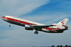 N103WA WORLD AIRWAYS DC-10-30 at KLAX (GeorgeM757) Tags: n103wa n1856u world worldairways mcdonnelldouglas klax aircraft aviation airport georgem757 takeoff lax dc1030