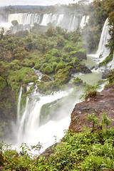 IMG_6473 (Dan Wilson Photographer) Tags: cloudy iguacufalls iguazuriver iguacu cataratas lascataratasdeliguazu cataratasdeliguazu water waterfalls waterfall trees rocks iguazú