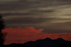 Sunrise 2 13 19 #07 (Az Skies Photography) Tags: rio rico arizona az riorico rioricoaz canon eos 80d canoneos80d eos80d canon80d cloud clouds red orange yellow gold golden salmon black february 2019 sky skyline skyscape arizonasky arizonaskyline arizonaskyscape sun rise sunrise morning dawn daybreak arizonasunrise 13 february132019 21319 2132019