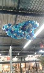 Ballonnen wolk