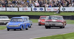 St Mary's Trophy (MJ Harbey) Tags: racetrack car goodwood goodwoodrevival goodwoodrevival2018 westsussex pirro perfetti ford lotus cortina mk1 fordlotus cortinamk1 1964 fordlotuscortinamk1 jasonplato mitchell fordgalaxie fordgalaxie500 1963 spectators stmarystrophy