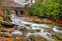 West Fork and the Triple Arch Bridge (esywlkr) Tags: stream water slowwater river westforkpigeonriver nc haywoodcounty pisgahnationalforest northcarolina warrenreed nature landscape