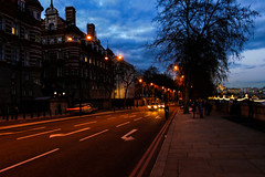 Some lights (Rafael C. C. de Souza) Tags: light street architecture building tree trip travel paris nigth afternoon sky walking