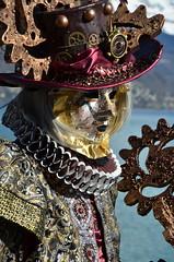 Un de mes préférés ! (RarOiseau) Tags: hautesavoie annecy portrait lac carnaval masque fête événement