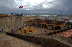 San Juan harbor from atop Ft San Cristobal (Light Orchard) Tags: caribbean historic history spain spanish espana españa fort sanjuan travel defense puertorico vacation trip holiday cruise oceania ©2019lightorchard bruceschneider