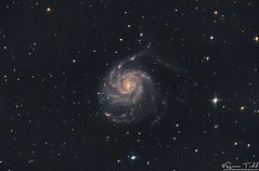 M101 / NGC 5457 - Pinwheel Galaxy in RGB (Simon Todd Astrophotography) Tags: m101 pinwheel galaxy ursa major ngc 5457 space deep sky night longexposure astrophotography astronomy ukastronomy skywatcher eq8pro baader qhy5lii qhyccd qhy183m quattro equatorial newtonian pixinsight