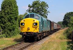 37109 Irwell Vale (CD Sansome) Tags: 37109 37 br east lancs railway lancashire elr irwell vale station train trains heritage preserved