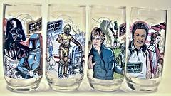 Empire Strikes Back- drinking glasses (enigma force) Tags: empire strike back drinking glasses burger king 1980