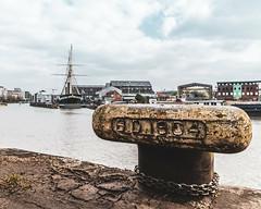 Bristol   |   Capricorn Quay (JB_1984) Tags: capricornquay bollard horncleat tether ship ssgreatbritain museum harbour marina riveravon chain decay bristol avon england uk unitedkingdom nikon d500 nikond500