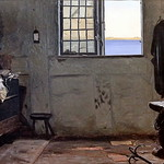 IMG_4467 Christen Dalsgaard 1824-1907. Copenhague Chambre d'un pêcheur A fisherman's bedroom 1853 Copenhague Collection Hirschsprung thumbnail