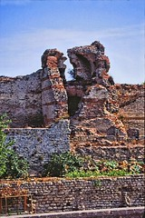 Walls of the City (David K. Edwards) Tags: 1453 constantinople istanbul byzantium walls stone brick mortar cannon fallen west boom turkey