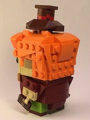 Willy Wonka Brickheadz (Spawnwrithe) Tags: moc lego brickheadz creation figure willy dahl roald chocolate factory wonka