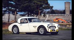 Austin Healey 100 BN4 (Laurent DUCHENE) Tags: godsavethecars auto automobile automobiles autodrome motorsport linasmontlhéry classiccar car 2018 youngtimer austin healey 100 bn4