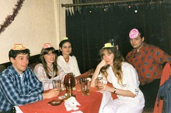101_NewYearsEve1987 (wrightfamilyarchive) Tags: new years eve 1987 1980s 80s eighties table indian restaurant