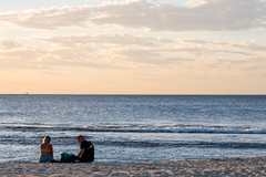 Evening on the beach (.Stephen..Brennan.) Tags: beach da70 pentax pentaxk3 seascape sunset trigg perth westernaustralia australia au 70mm