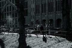 spring temperament@Kö-Graben, Düsseldorf 2 (Amselchen) Tags: bnw blackandwhite mono monochrome city people pedestrians urban season spring light shadow streetphotography düsseldorf germany fujifilm fujinon fujifilmxt2 xf1855mmf284rlmois