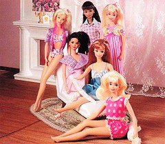 Barbie & Friends (Barbie Collectors Guide '90s) Tags: 1990 barbie kira marina christie friends