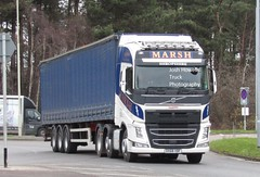 Marsh Potatoes DX68 VBF at Telford (Joshhowells27) Tags: lorry truck volvo fh volvofh curtainsider dx68vbf marshpotatoes