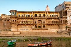 Varanasi, India (Ninara) Tags: varanasi india uttarpradesh ghat ganges ganga gangaaarti sadhu nagasadhu sunrise morning bathing holycity digpatiaghat digpatia kashi benares