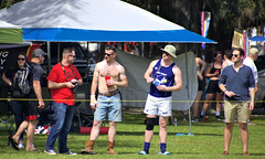 Spectators (Mike McCall) Tags: copyright2019mikemccall photography photo image usa culture southern america thesouth unitedstates northamerica south georgia stpatricksdayrugbytournament stpatrick day rugby tournament game sport sports field pitch football savannah chatham county documentary editorial side daffin park daffinpark parkside