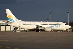 Boeing B737-3H9 - YU-ANI - HAJ - 19.03.2019 (Matthias Schichta) Tags: haj hannoverlangenhagen eddv planespotting flugzeugbilder boeing b737300 yuani aviolet