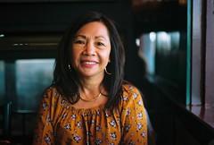 Leah (poavsek) Tags: portrait kodak restaurant film medalist portra160 monterey california