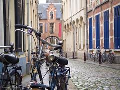 Bikes in Leuven (Fernando Álvarez Rodríguez) Tags: olympusomd photowalk phototravel photohistory streetphotography leuven belgium