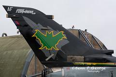 TORNADO-GR4-AF-ZG775-8-3-19-RAF-MARHAM-(5) (Benn P George Photography) Tags: rafmarham 8319 bennpgeorgephotography tornadofinale mightyfin tornado gr4 af zg775 dh zd716 batman goldstars 9sqn 31sqn nikon nikond7100 nikon18105vr nikon24120f4 royalairforce