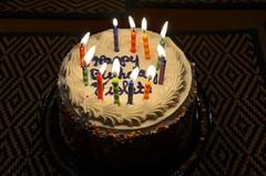 Violet's Birthday Cake (Joe Shlabotnik) Tags: vermont birthdaycake killington 2019 march2019 candles cake afsdxvrzoomnikkor18105mmf3556ged