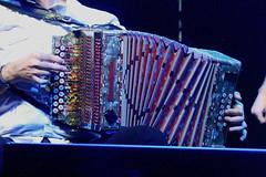 Accordions, Concertinas, etc. [Free Reed Instruments] 43: Trikitixa (of Agus Barandiaran) (KM's Live Music shots) Tags: musicalinstrument hornbostelsachs aerophone trikitixa accordion basquecountry spain korrontzi oldfruitmarket