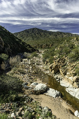 Pine Creek crossing the Apache Trail in Arizona (TAC.Photography) Tags: clouds arizona pinecreekarizona