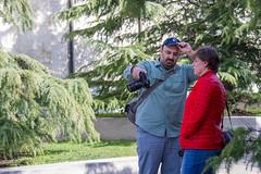 Panos sharing some tips (BrianLy) Tags: benfranklinparkway photowalk philadelphia fairmount pennsylvania unitedstatesofamerica us