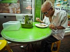 Bangkok Chinatown-3231440 (Neil.Simmons) Tags: bangkok chinatown thailand southeast asia candid street streetphotography laowa 75mm f2 ultra wide angle ultrawideangle eating streetstall green