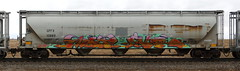 Mast/River (quiet-silence) Tags: graffiti graff freight fr8 train railroad railcar art mast river tge tci hopper gpfx gpfx10889