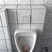 Urinal with corners and edges