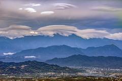 20150816 莢狀雲 飛碟雲 (bibi.barbie) Tags: taiwan 南投縣 南投市 橫山步道 雲 天空 雲海 琉璃光 風景