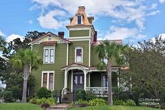 The Pippi Longstocking House - Amelia Island (http://www.yashicasailorboy.com) Tags: florida ameliaisland pippi longstocking house building fernandina movies