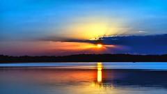 Blue Sunset (Bob's Digital Eye 2) Tags: bobsdigitaleye bobsdigitaleye2 canon canonef50mmf18ii clouds cloudscape glow h2o laquintaessenza lake lakesunset lakesunsets lakescape landscape outdoor reflection sep2018 silhouette skies sky skyline skyscape sun sunset sunsetoverwater sunsetsoverwater t3i water flickr flicker silhouettes reflections