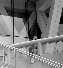 Baltimore Abstract (david.sarian) Tags: monochrome film abstract analog architecture maryland baltimore blackandwhite reflection