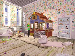 New bedroom set up (daisypea) Tags: flickr spam art daisy crowley secondlife second life sl roleplay toddler child kid children tot td bebe bad seed toddleedoo colour color draw paint crayon photo photography picture rp cute sweet adorable baby little girl daughter sister family look day lotd landscape school create creativity creative bedroom setup decorate