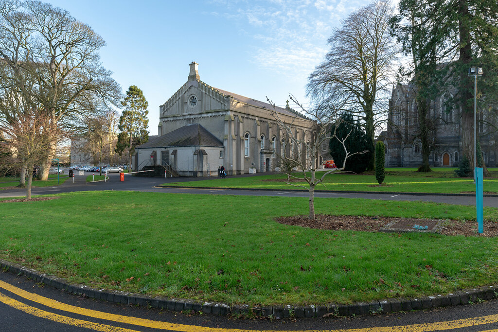 TODAY I VISITED ST. PATRICK'S COLLEGE IN MAYNOOTH [THE NATIONAL SEMINARY OF IRELAND]-147803