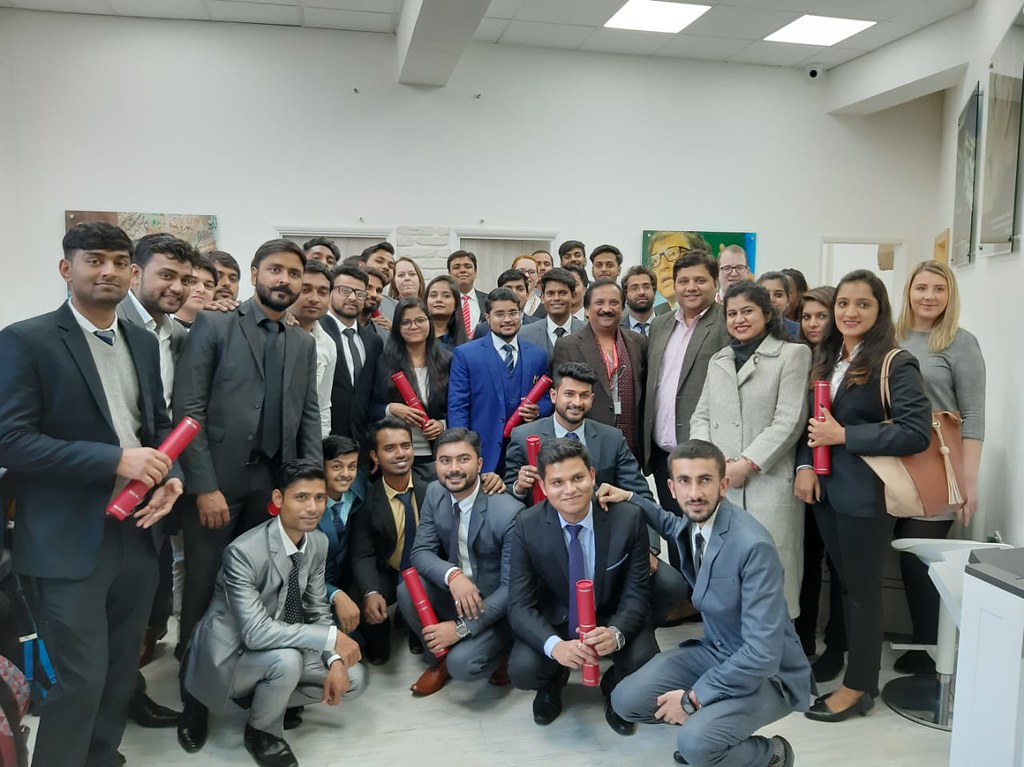 ABS PGDM Oxford Trip 2018 - Presentations and Convocation