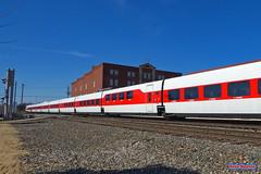 Amtrak Talgo train deadhead (Railfan-Eric) Tags: bnsf trains amtrak amtk passengertrain passengerspecial ocs officersspecial talgotrain railroads