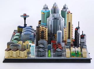 Lego microcity Meribia 80%