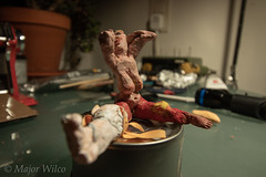 Handicapped Beauty-23-2 (Major Wilco) Tags: fimo plaster clay figurative art